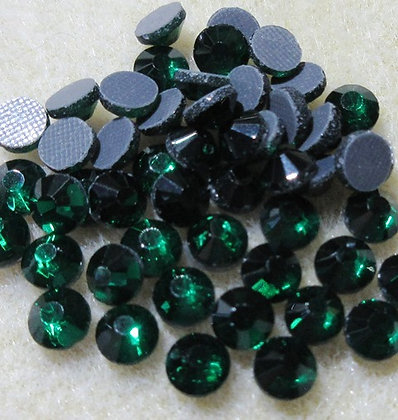 HF73-5 - 5mm Emerald Hot Fix Crystals, 50/Package