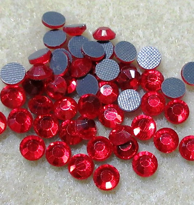 HF38-5 - 5mm Siam Hot Fix Crystals, 50/Package