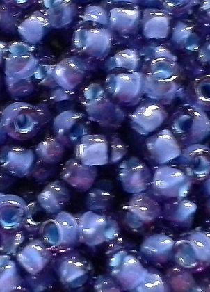 8-399H Light Blue Lined Lavender