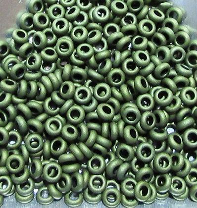 8-617 - 8/0 Olive Green Matte Metallic,7.2 Grams