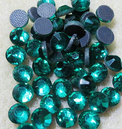HF75-5 - 5mm Teal Hot Fix Crystals, 50/Package