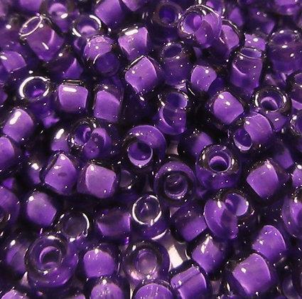 8-399J  8/0 Grape/Lined Light Purple