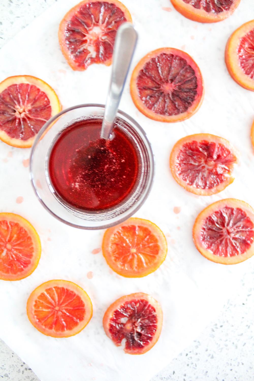 Candied blood orange. #bloodorange #bloodorangesyrup
