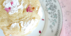 A Perfect Pop Of Freshness: Lemon Rosewater Cookies