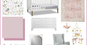 One Room Challenge: Week 1 - Modern Whimsical Nursery Makeover