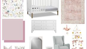 One Room Challenge: Week 1 - Modern Whimsical Nursery Makeover