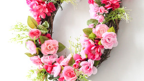 The 5 Step Spring Floral Wreath DIY
