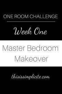 One Room Challenge - Week 2: Master Bedroom #betterhomesandgardens #ORC #BHGORC #oneroomchallenge