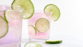 A Delightful Lemon and Rose Mocktail ... (Or Cocktail!)