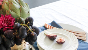 When Flowers Meet Fruit: An Effortless Fall Tablescape