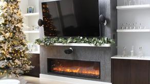 Modern Minimalist Shelf Styling For The Holidays