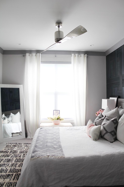 One Room Challenge: Guest Bedroom and Bathroom Reveal! #bhgorc #oneroomchallenge #roommakeover #guestroom #ensuite #betterhomesandgardens