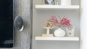 Modern Minimalist Shelf Styling For The Spring Months