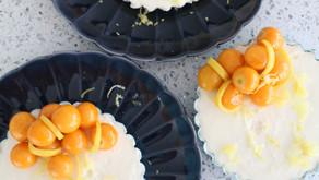 The Ultimate No Bake Cheesecake With Lemon, Elderflower & Gooseberries
