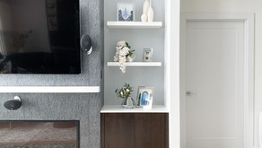 Easy Breezy Modern Minimalist Shelf Styling For The Summer Months