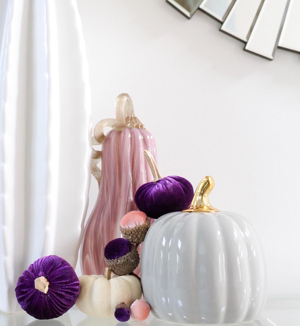 Brilliant Colors Of Fall Home Tour. #fallhometour #fallinspiration #falldecor