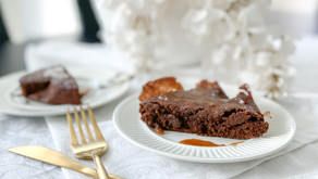 Better Than The Box: Simple Brownies With Salted Caramel Drizzle