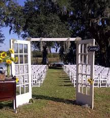 RUSTIC WEDDING ENTRANCE DOORS