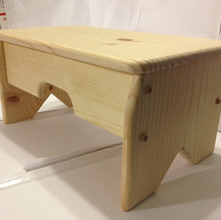#1009 Wood Bench stool