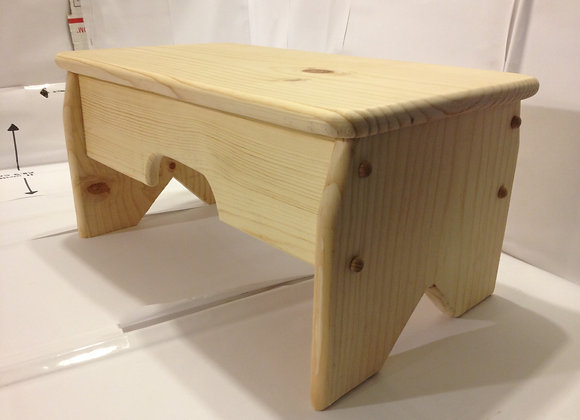 #1009 Wood Bench stool
