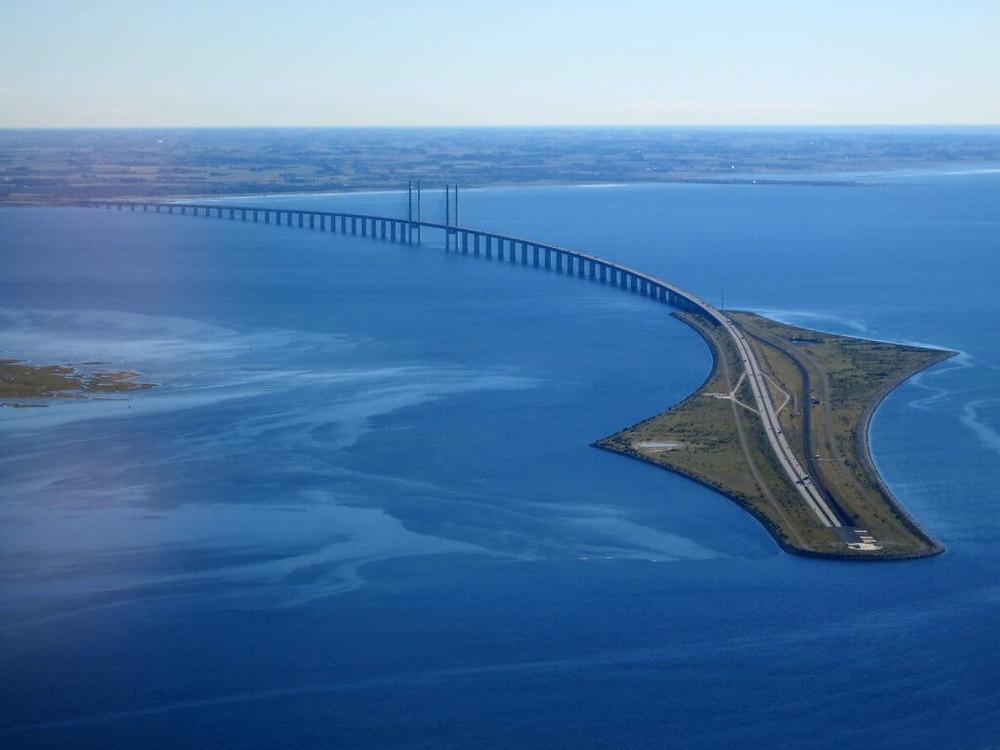 Ponte de Oresund, Dinamarca e Suécia
