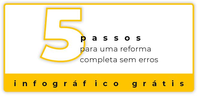 5 Passos para uma reforma completa