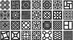 Cobogós e suas geometrias