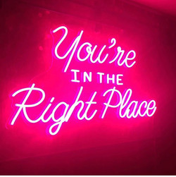 neon phrase