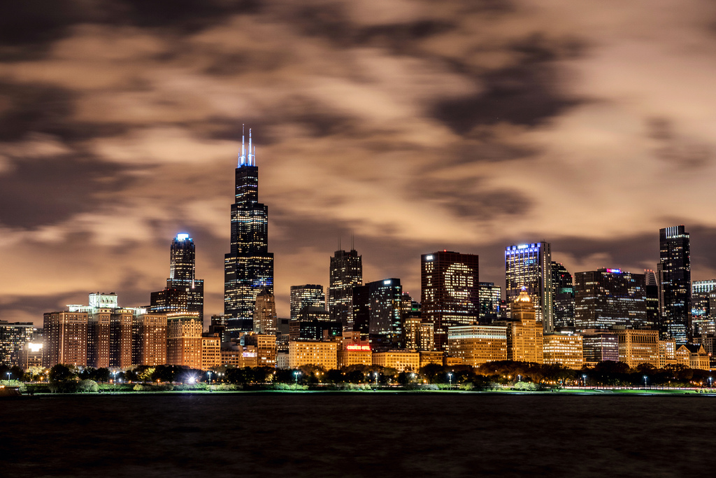 World Series Championship Skyline