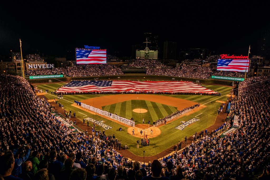 Wrigley Field World Series Game 3