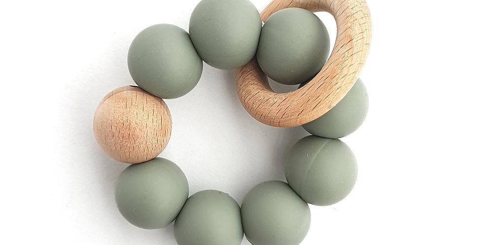Buva Boutique teether toy sage jucarie dentitie verde