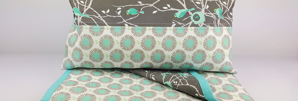 Buva set quilt Grey Matters