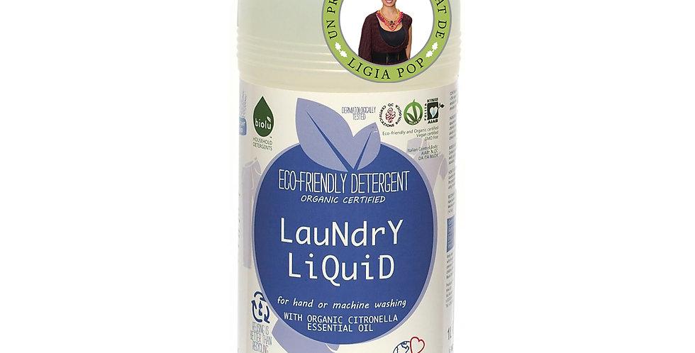 Detergent Ecologic pt. Rufe Albe si Colorate Lamaie 1L Biolu