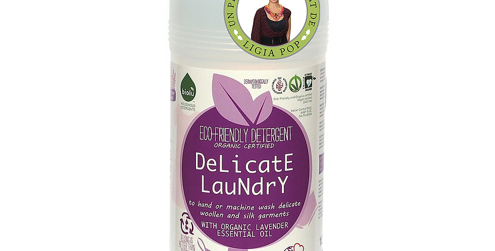 Detergent Ecologic pt. Rufe Delicate 1L Biolu
