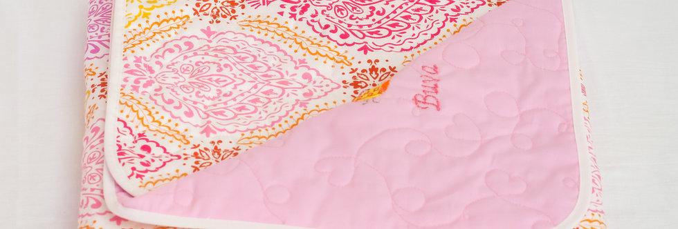 Buva set quilt Pink azalea
