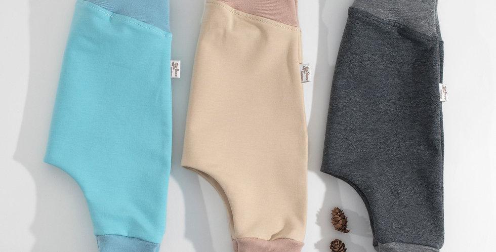 Set 2 pantaloni harem Mix din bumbac