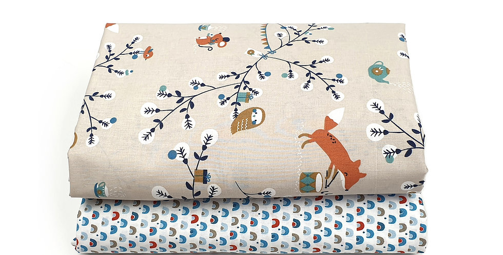 Cearceaf cu elastic patut bebe baby bedsheet bufnita iepuras soricelu curcubeu bunny mouse owl rainbow