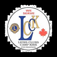 LIONS CAMP KIRK LOGO