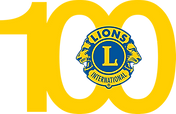 100 Years Of Lions Clubs Logo