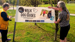 Banner for Pet Valu Walk for Dog Guides with Sheila