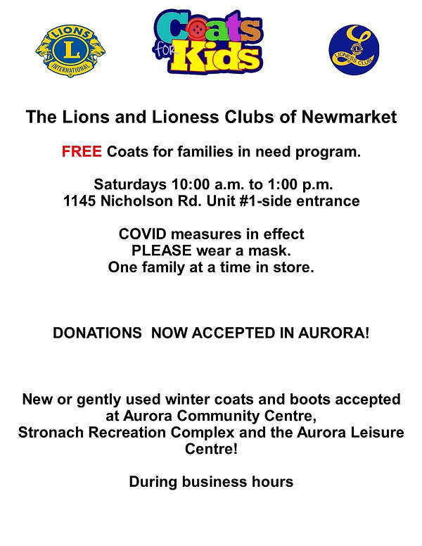 Flyer Coats for Kids New Location