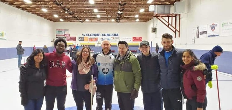 alt text 11th Annual Curling for Puppies Bonspiel 2020