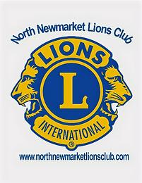 North Newmarket Lions Club logo