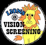 Lions Vision Screening Logo