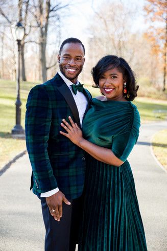 Raychelle & Karl - Holiday Shoot