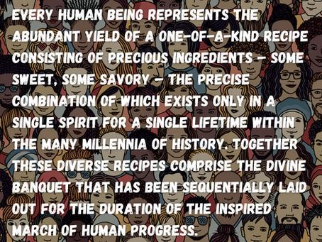 The Human Recipe