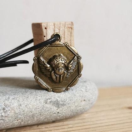 Porte-clés Ange bronze