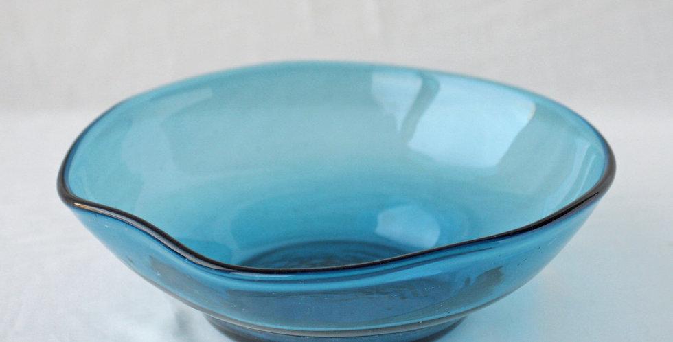 サラダ鉢 ブルー 68
