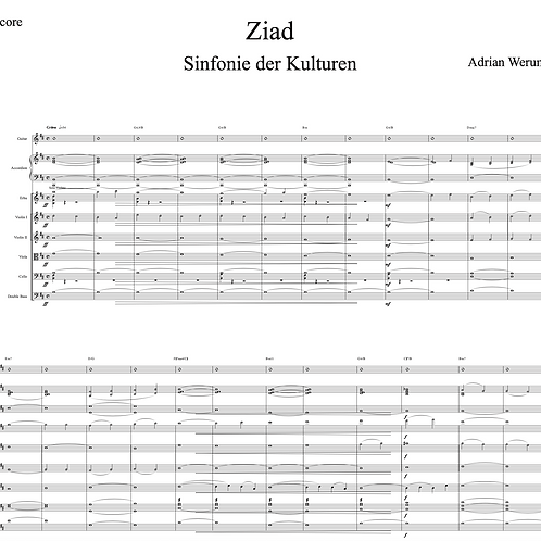 Ziad for String Orchestra and Solo Violin or Erhu