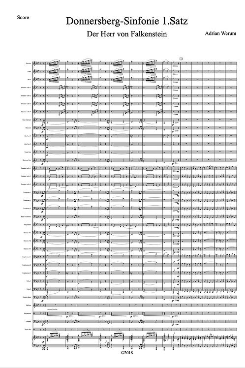 Donnersberg Sinfonie für Sinfonisches Blasorchester in 3 Sätzen